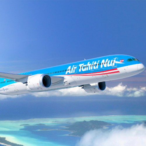 Air Tahiti Nui, partner of Léa Brassy